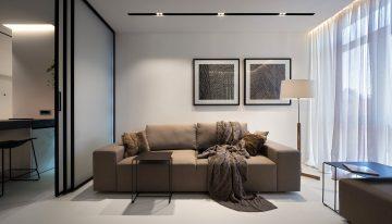 Невероятен малък апартамент с модерен и практичен дизайн [44 м²]