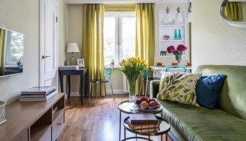 Светъл и просторен дизайн на малък етаж от къща