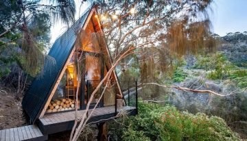 Невероятна триъгълна къщичка за отдих в Тасмания, Австралия