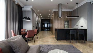 Възхитителен интериор на апартамент в Одеса от студио YoDezeen